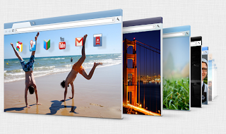 Cara Mudah Membuat Sendiri Tema Google Chrome