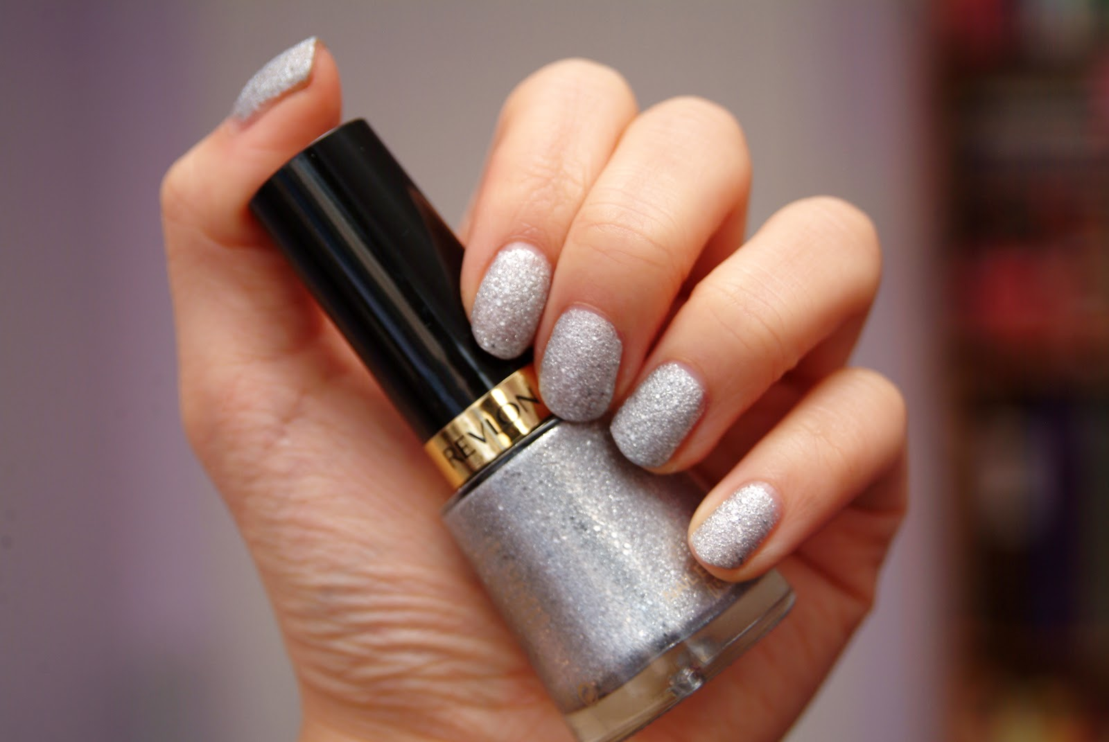 fun size beauty: Revlon Nail Lacquer in Diamond Texture