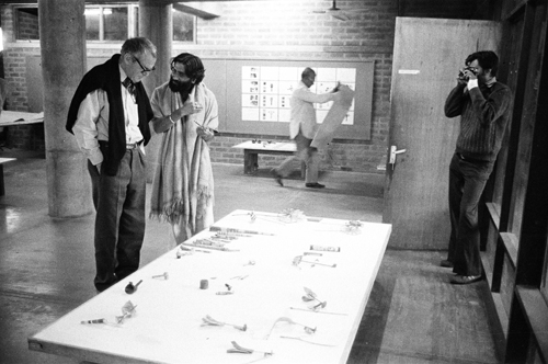 Charles Eames with Sudarshan Khanna