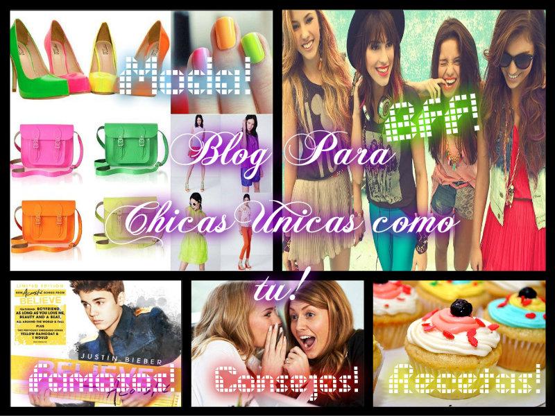 Blog Para Chicas Unicas Como Tu!