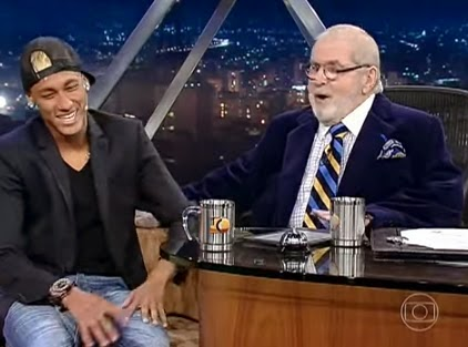 Entrevista de Jô com o Neymar Jr