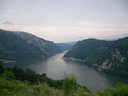 Danube at Iron gates
