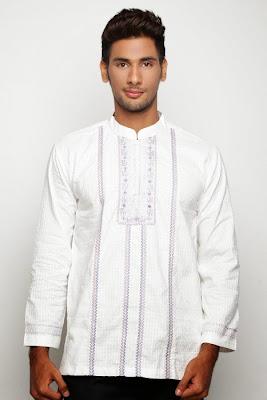model baju muslim pria polos