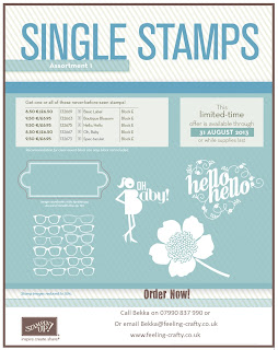 Single Stamps from Stampin' Up!  Order Yours Here