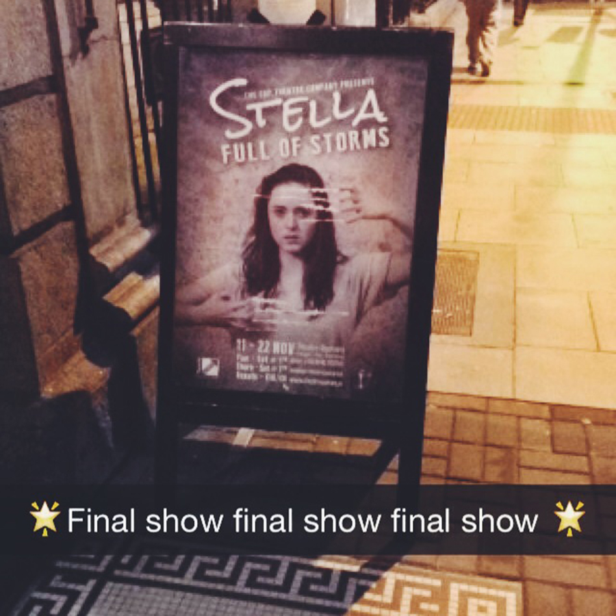 Stella Full of Storms Poster and Snapchat
