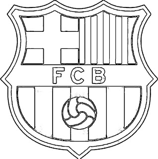 Colorear escudos de equipos de futbol