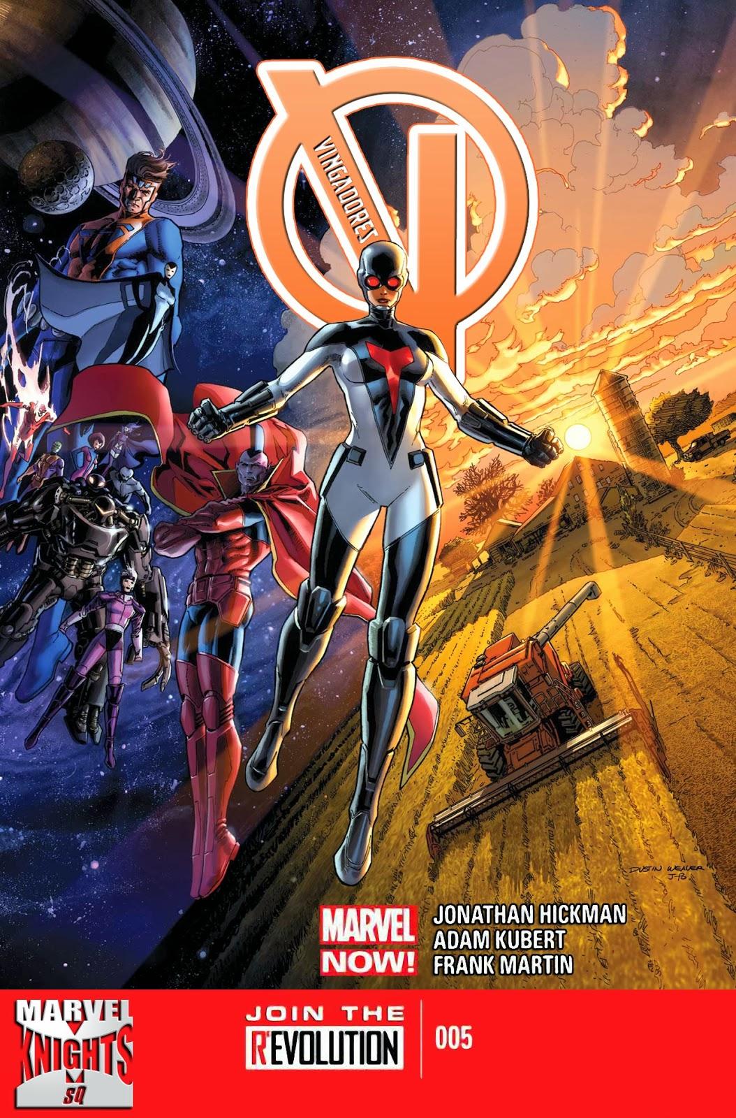 Nova Marvel! Vingadores v5 #5