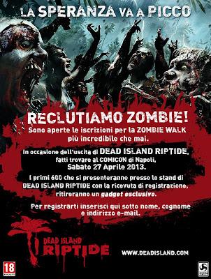 Zombie Walk Napoli: 27 Aprile 2013