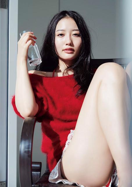 Ura Mayu 浦まゆ Weekly Playboy 週刊プレイボーイ Dec 2015 Photos 2