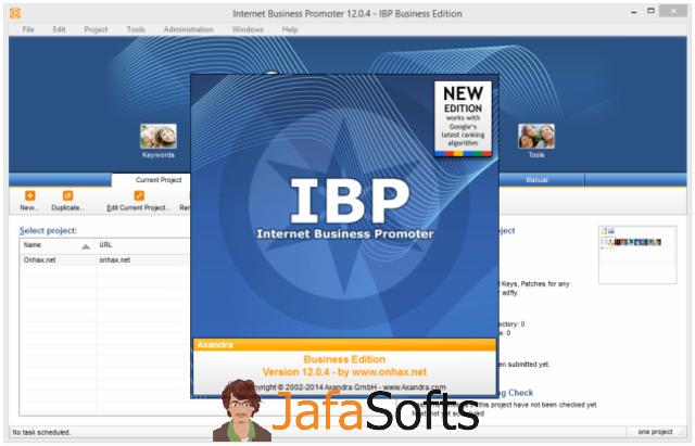 2014 Разработчик: www.ibusinesspromoter.com ОС: Windows XP/Vista/7/8/8.1
