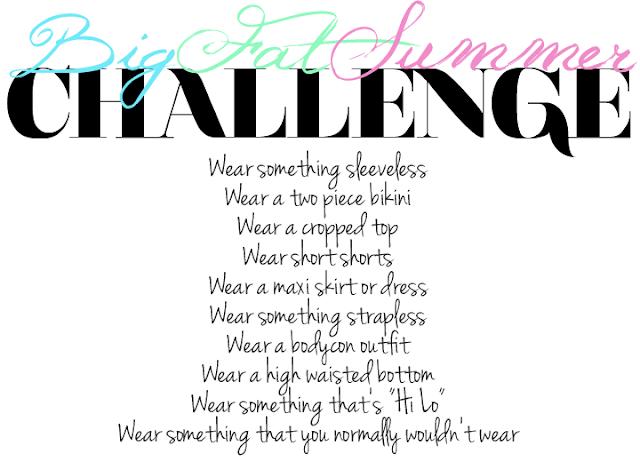 big fat summer challenge