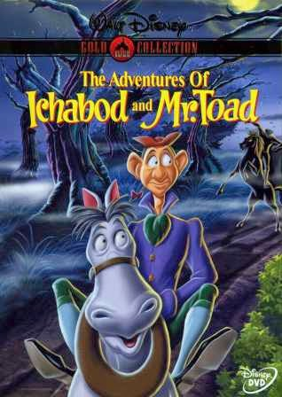 The Adventures of Ichabod and Mr. Toad 1949 Hindi Dubbed Dual DVDRip 250mb