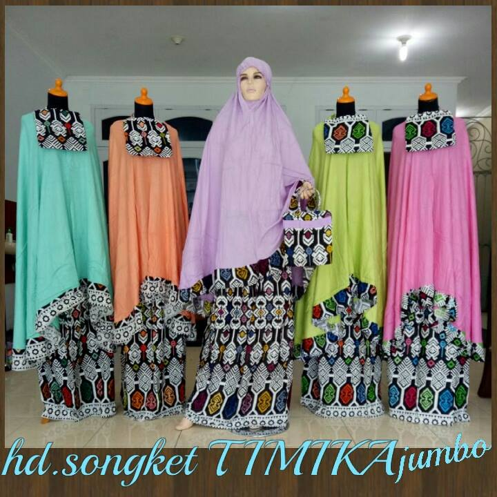 Mukena Hd Songket Timika
