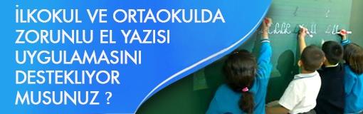 Türkiye'de El Yazısı İstenmiyor