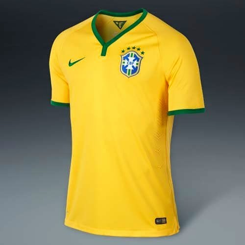 Nike released Brazil home and away kit world cup 2014