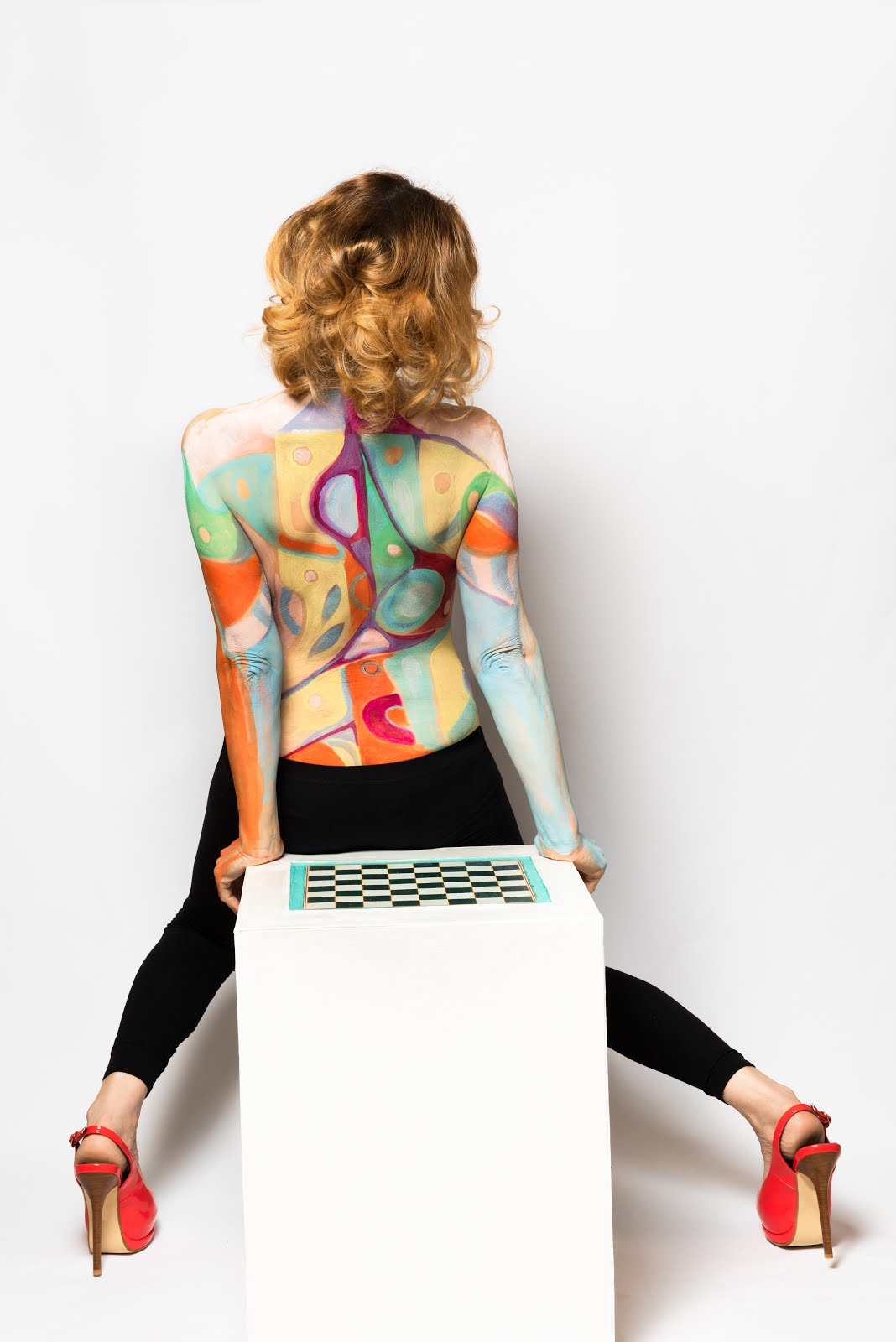 Body painting mutamenti Pop