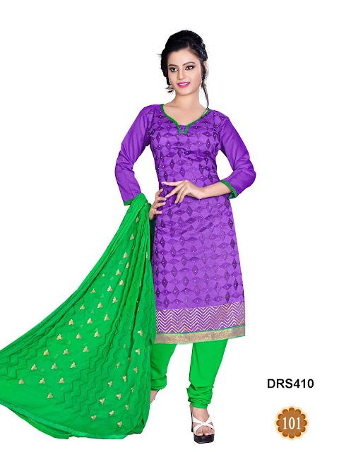 Simple Casual Wear Dress Material Online – Wholesale