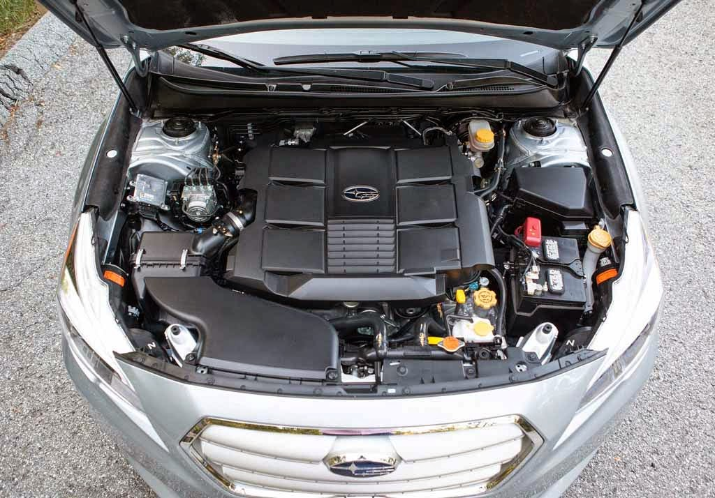 2016 Subaru Legacy Engine