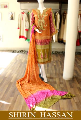 Shirin Hassan Celestial Dresses'14