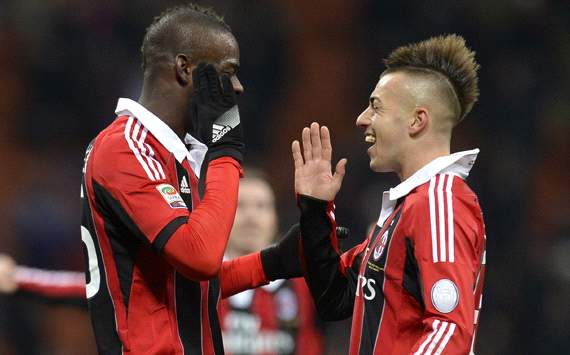 Balotelli and El Sharawi