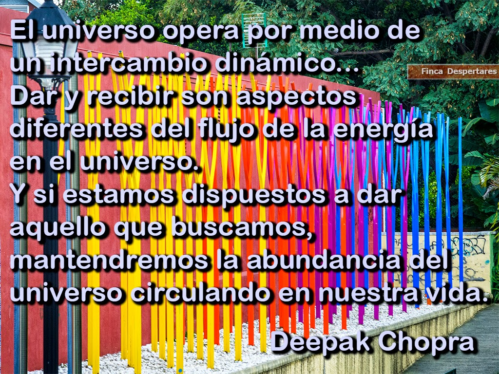 Finca Despertares - Deepak Chopra