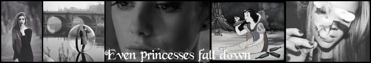 even princesses fall down..