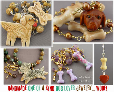 For Love of a Dog Jewelry for Christmas Gift Shopping