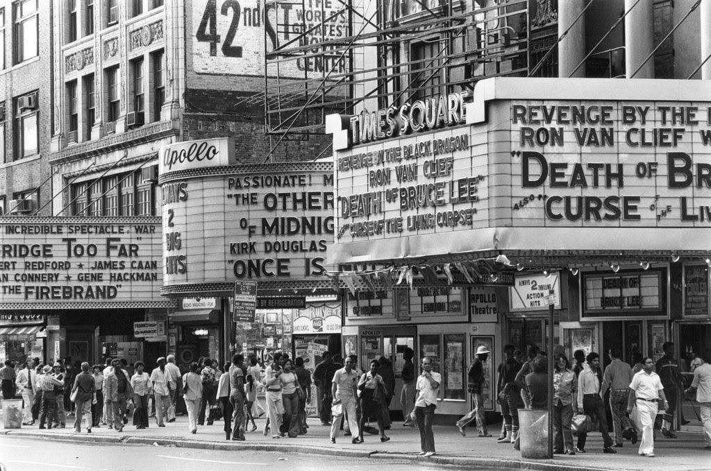vintage everyday: Street Scenes of Times Square in the 70's