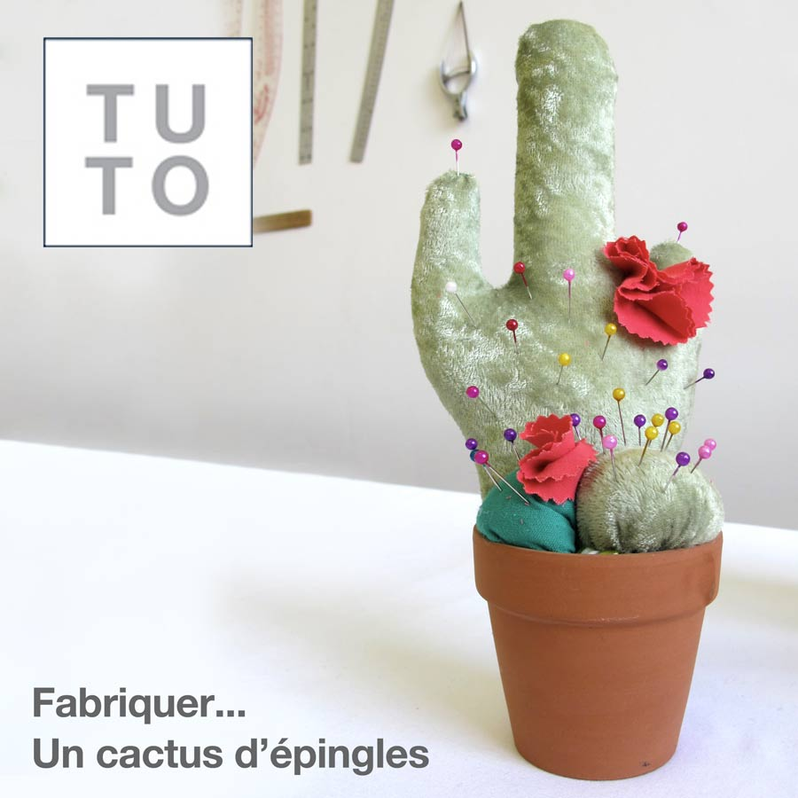 fabriquer un cactus d 39 pingles blogue de couture diy de la fabrique thique. Black Bedroom Furniture Sets. Home Design Ideas