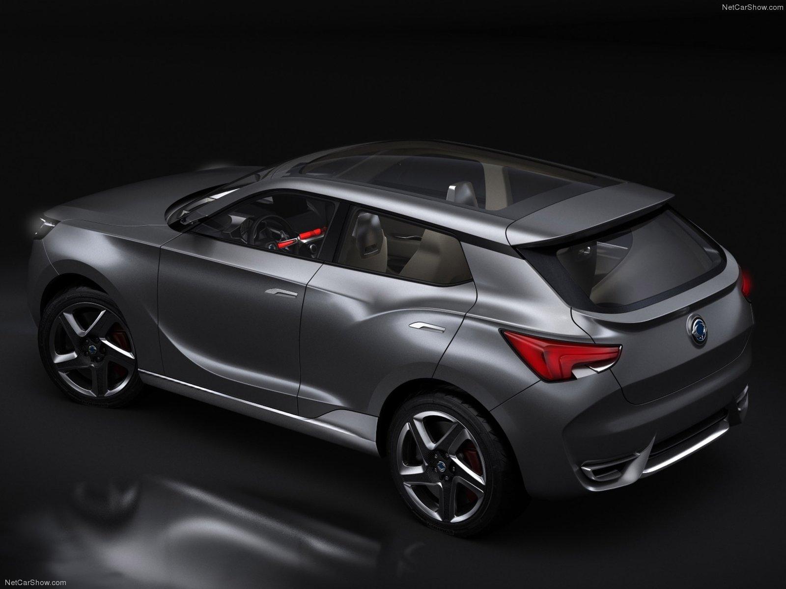 Hình ảnh xe ô tô SsangYong LIV-1 Concept 2013 & nội ngoại thất