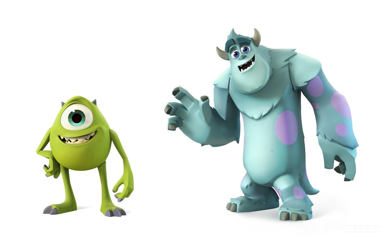 Pixar Corner: Monsters University Disney Infinity Play Set ...