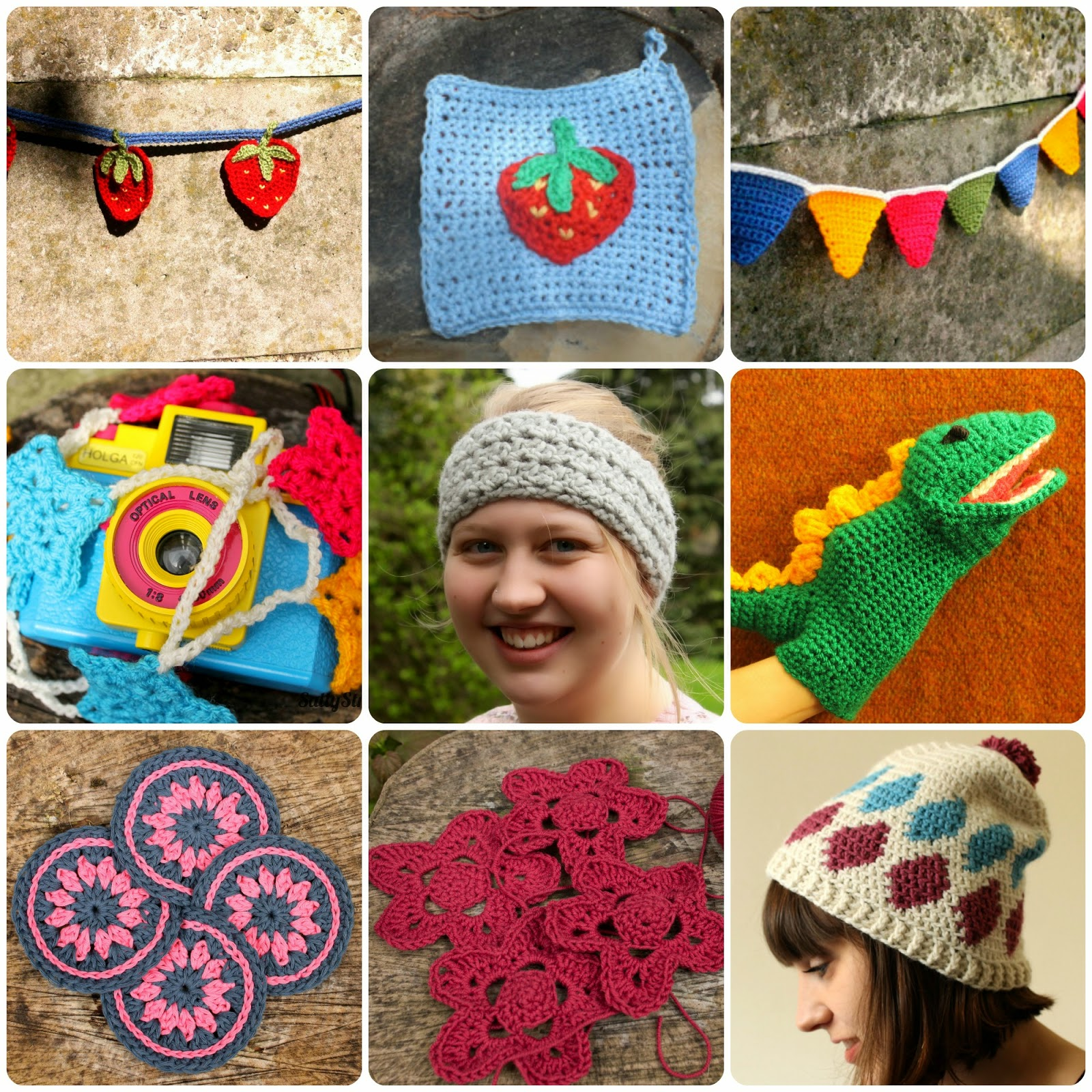 Crochet designs by SallyStrawberry