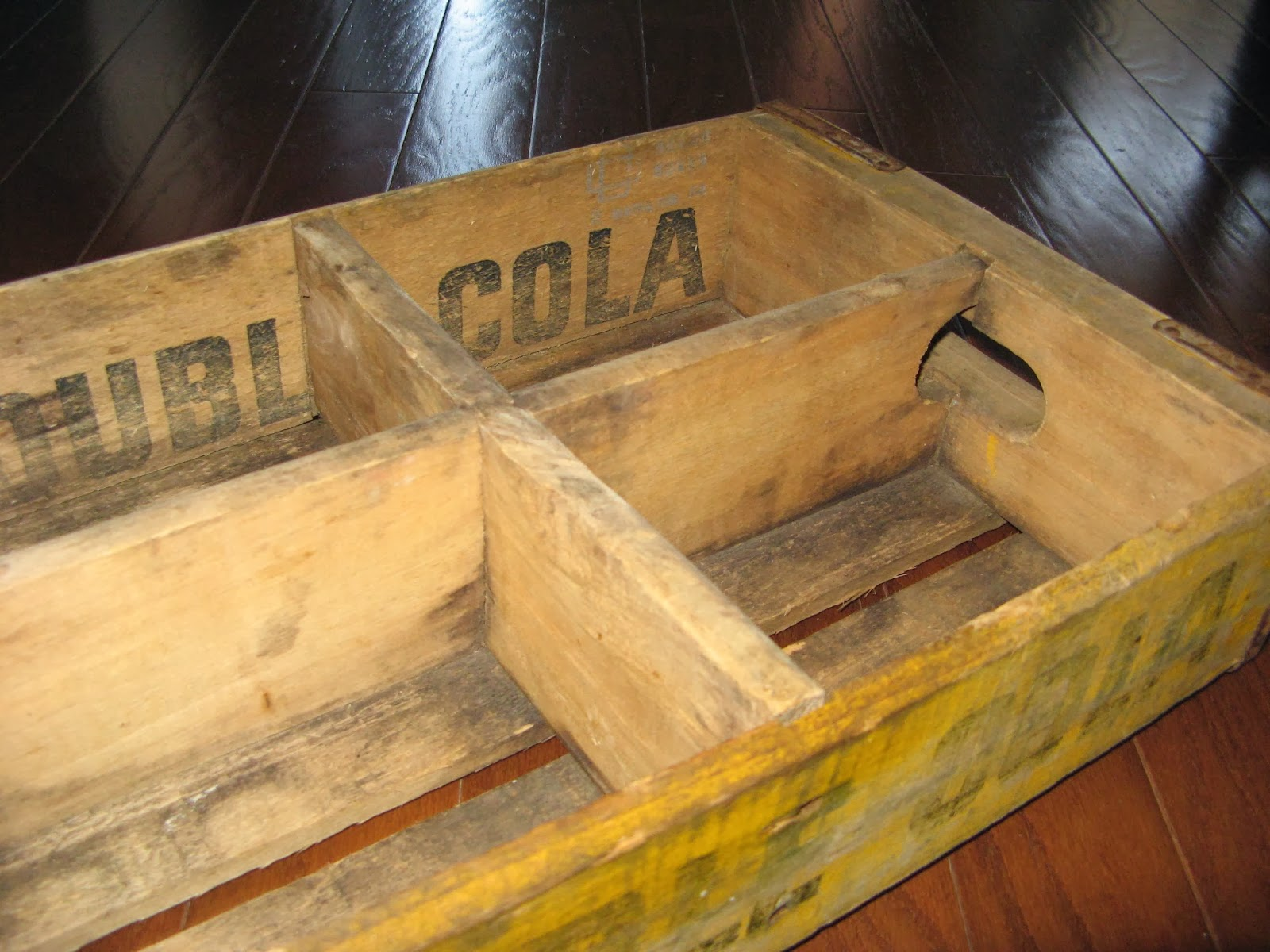 Old Cola Crate