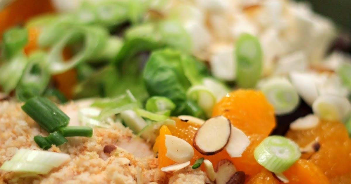 Asian mandarin orange salad