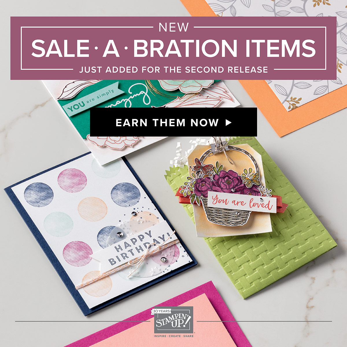 Sale-A-Bration Products - Second Release