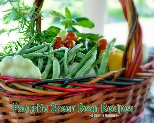 Favorite Green Bean Recipes from A Veggie Venture, including insider tips, nutrition, Weight Watchers points.