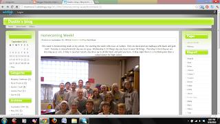 Dustin's blog