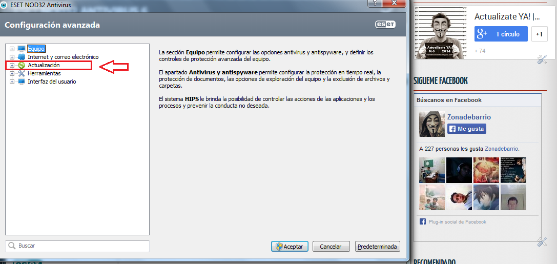 Cómo cambiar Clave en ESET NOD32 Smart Security Version 6 y 7