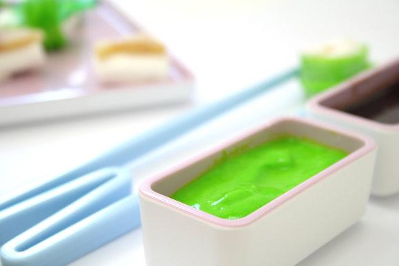 Wasabi für Kinder aus Johghurt