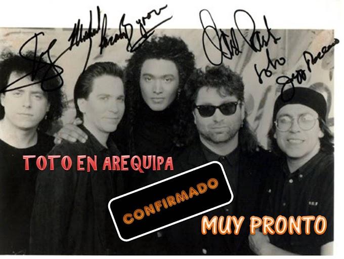 TOTO en Arequipa 2012 - Muy pronto