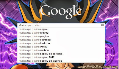 Google: Busca da música do Latino