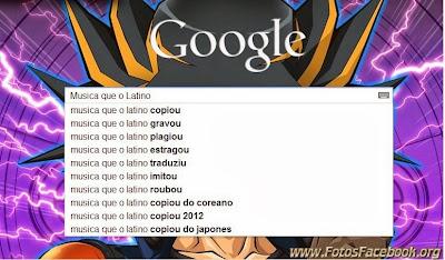Google: Busca da música do Latino