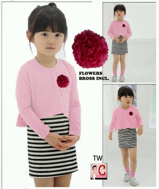 baju+anak+korea+9 30 model baju anak korea perempuan branded cute,Baju Anak Anak Sekarang