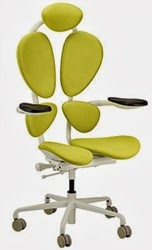 Green Chakra Chair by Eurotech