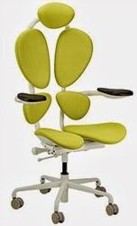 Green Chakra Chair by Eurotech