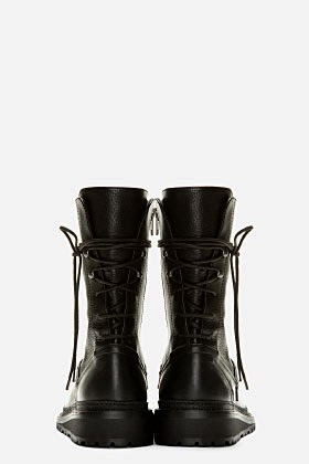 http://www.ssense.com/men/product/ann_demeulemeester/black_leather_tall_ankle_lace-up_boots/93560