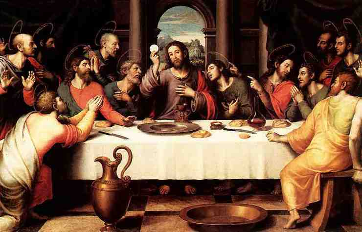 Image result for the last supper body and blood