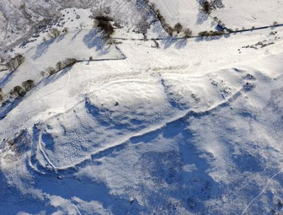 Snow reveals Wales' forgotten ancient remains