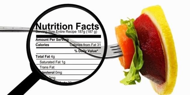 Kesehatan : Cara Membaca Label  Nutrisi