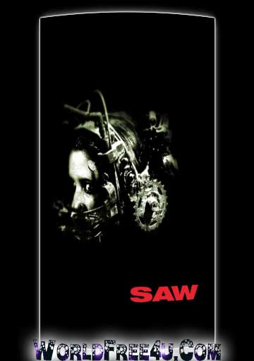 Poster Of Hollywood Film Saw (2004) In 300MB Compressed Size PC Movie Free Download At World4ufree.Org